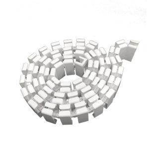 เซตท่อเก็บสายไฟและรางเก็บสายไฟแบบกระดูกงู-Cable Sheild V.2