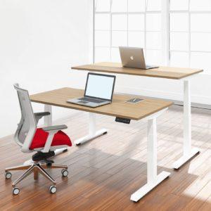 โต๊ะยืน-นั่งทํางาน Sit-Stand Smart Desk รุ่น ET3-Mix