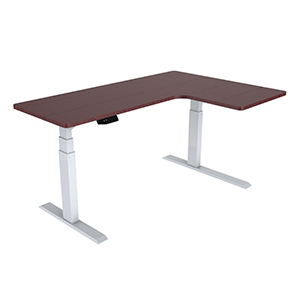 โต๊ะยืน-นั่งทํางาน Sit-Stand Smart Desk รุ่น ET3-Walnut