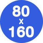 80x160cm