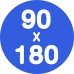 90x180cm